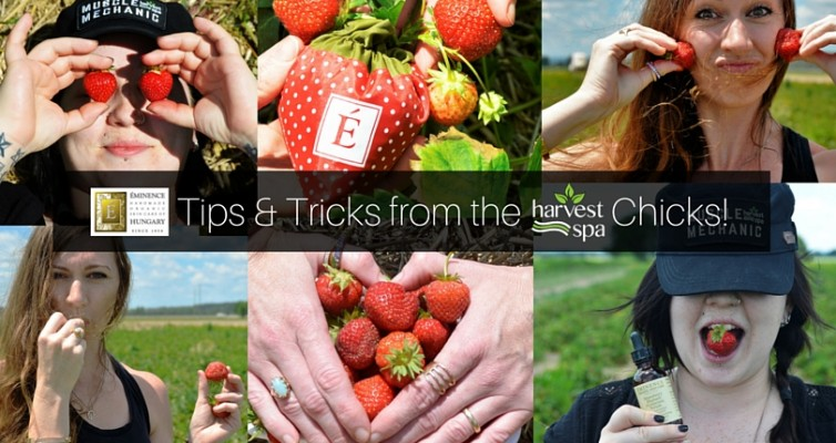 July Tips & Tricks from the Harvest Spa Chicks!