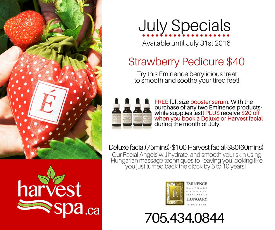 Copy of july Spa Specials