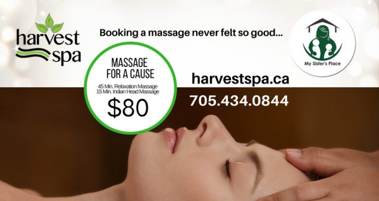 Massage for a cause!