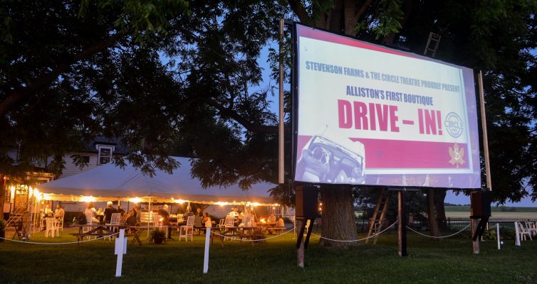 DRIVE-IN MOVIES AT THE B&B!